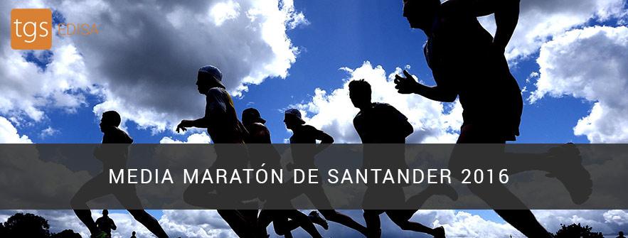 media maratón de santander 2016