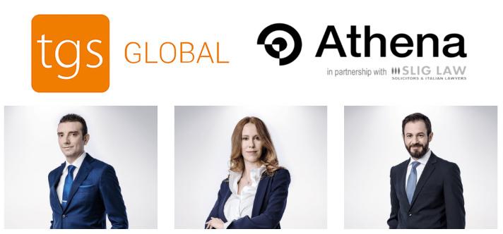 Athena, nuevo socio TGS Global